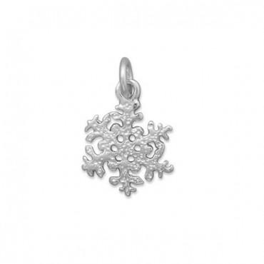 Shiny Snowflake Charm