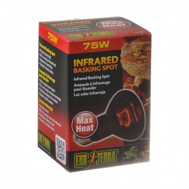 Exo-Terra Heat Glo Infrared Heat Lamp - 75 Watts
