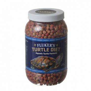 Flukers Turtle Diet for Aquatic Turtles - 3.5 lbs