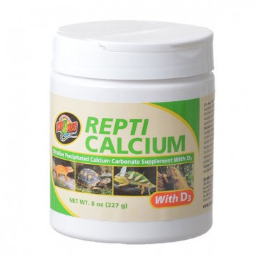 Zoo Med Repti Calcium With D 3 - 8 oz - 2 Pieces
