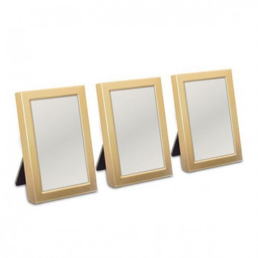 Mini Photo Frame Favor In Gold Or Silver Easel Back - Pack of 3 - 4 Pieces