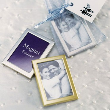 Magnet Back Mini Photo Frames - Pack of 3 - 4 Pieces