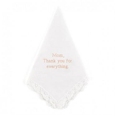 Plain With Crocheted Border Handkerchief