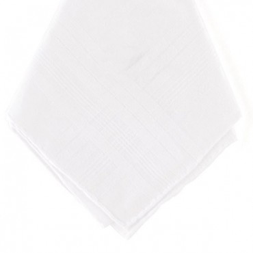 Gentleman's Plain Handkerchief