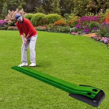 8 Ft. Indoor / Outdoor Golf Green Grass Practice Putting Mat