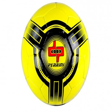 Perrini Futsal Official Size 4 Soccer Ball Yellow and Black