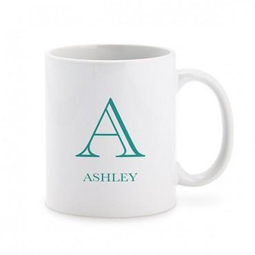 Personalized Coffee Mug - Classic Monogram
