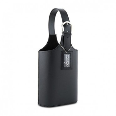 2 Section Wine Carry Bag - Black