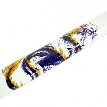 40.5 in. White Dragon Collectible Katana Samurai Sword