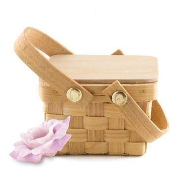 Miniature Picnic Basket Favor - Pack of 6