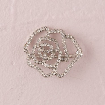Crystal Rose Buckle - 3 Pieces