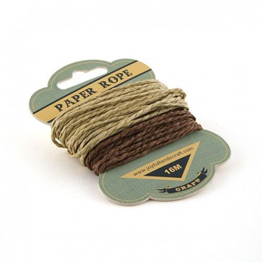 Craft Paper Twine - 6 Pieces