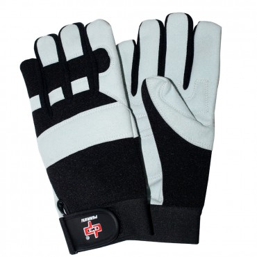 Perrini White ammara Mechanical Safety Gloves Sizes S - XXL