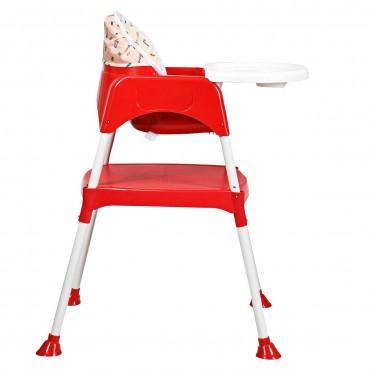 3 In 1 Convertible Feeding Baby High Chair
