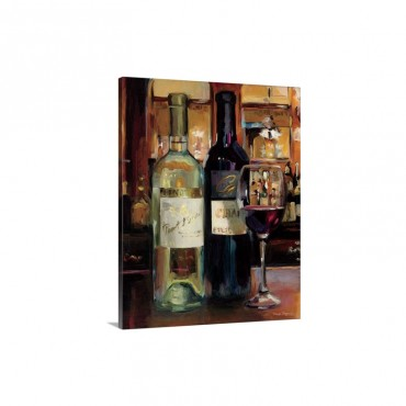 A Reflection Of Wine I I Wall Art - Canvas - Gallery Wrap