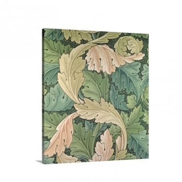 Acanthus Wall Art - Canvas - Gallery Wrap