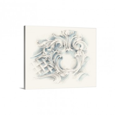 Acanthus Ornament I Wall Art - Canvas - Gallery Wrap