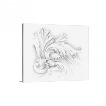 Acanthus Ornament I I Wall Art - Canvas - Gallery Wrap