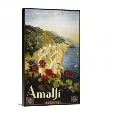 Amalfi Wall Art - Canvas - Gallery Wrap