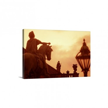 Amalienborg Palace Copenhagen Denmark Wall Art - Canvas - Gallery Wrap