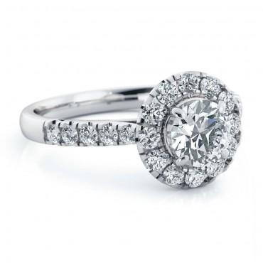 Amelia Moissanite Ring - White Gold