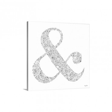 Ampersand Wall Art - Canvas - Gallery Wrap