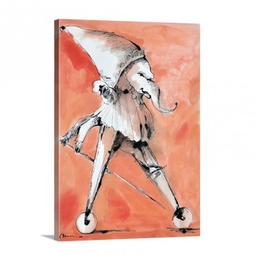 Anger Wall Art - Canvas - Gallery Wrap