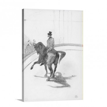 At The Circus The Spanish Walk Au Cirque Le Pas Espagnol Wall Art - Canvas - Gallery Wrap