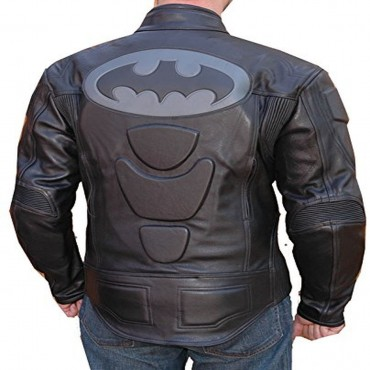 Bat Motorcycle Leather Jacket Racing Riding Jacket