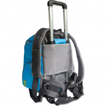 Touchdog Wuffle Duffle Wheeled Backpack Pet Carrier