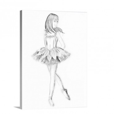 Ballerina Wall Art - Canvas - Gallery Wrap