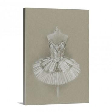 Ballet Dress I Wall Art - Canvas - Gallery Wrap