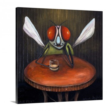 Bar Fly Wall Art - Canvas - Gallery Wrap
