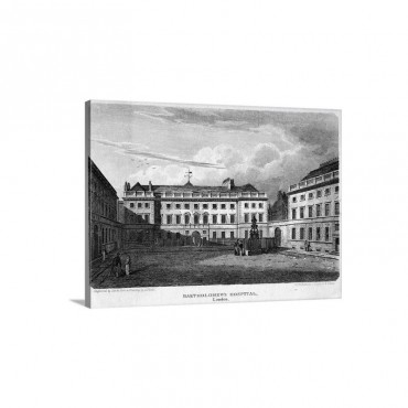 Bartholomew's Hospital Wall Art - Canvas - Gallery Wrap