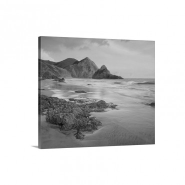 Bean Hollow Beach Big Sur California Wall Art - Canvas - Gallery Wrap