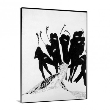 Beardsley Salome C 1894 Wall Art - Canvas - Gallery Wrap
