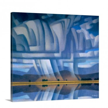 Beautiful Storm Wall Art - Canvas - Gallery Wrap