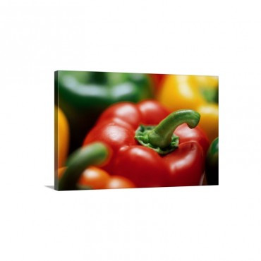 Bell Peppers Wall Art - Canvas - Gallery Wrap