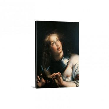 Berenice By Bernardo Strozzi C 1640 1644 Wall Art - Canvas - Gallery Wrap