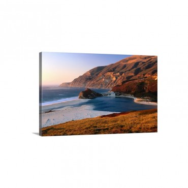 Big Sur Beach At Sunset California Wall Art - Canvas - Gallery Wrap