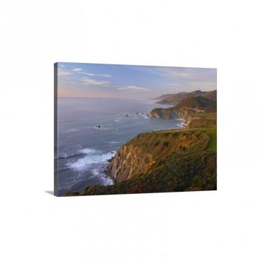 Bixby Bridge Big Sur California Wall Art - Canvas - Gallery Wrap