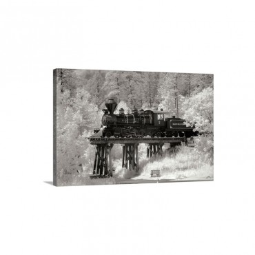 Black Hills RR I Wall Art - Canvas - Gallery Wrap
