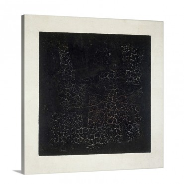 Black Square C 1920 Wall Art - Canvas - Gallery Wrap