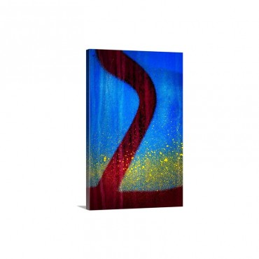 Blue Abstract I I Wall Art - Canvas - Gallery Wrap
