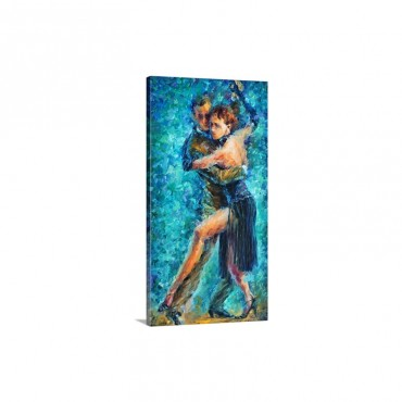 Blue Tango I I Wall Art - Canvas - Gallery Wrap
