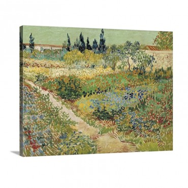Bluhender Garten Wall Art - Canvas - Gallery Wrap