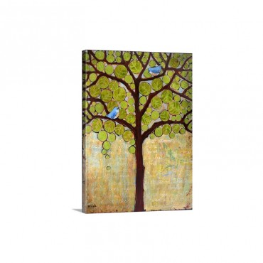 Boughs In Leaf Wall Art - Canvas - Gallery Wrap