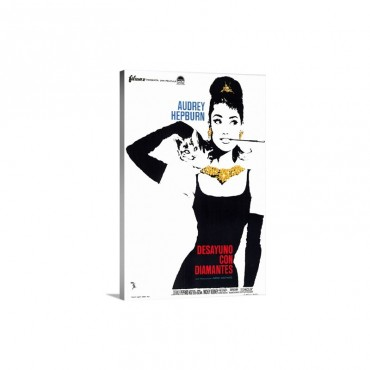 Breakfast At Tiffanys 1961 Wall Art - Canvas - Gallery Wrap