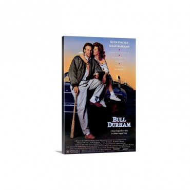 Bull Durham 1988 Wall Art - Canvas - Gallery Wrap