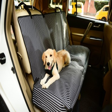 Pet Life Open Road Mess-Free Back Seat Safety Car Seat Cover Protector For Dog, Cats, And Children